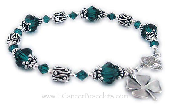 Donor Awareness Bracelet with Lucky Charm