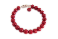 Swarovski Pearl Bracelet for Heart Disease in women