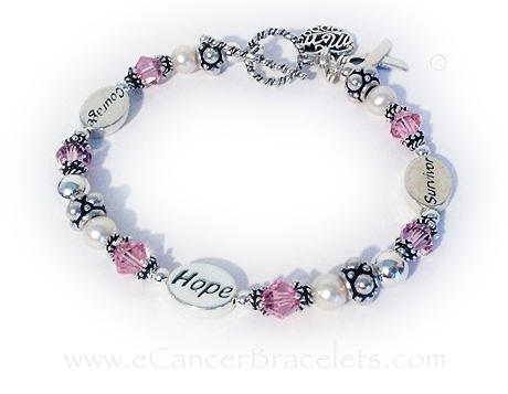Courage Hope Survivor Breast Ribbon Cancer