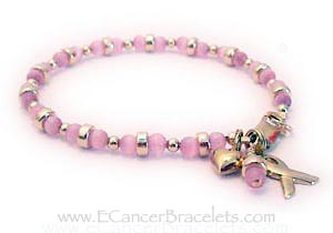 Survivor Pink Breast Cancer Bracelet R44