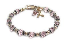 Breast Cancer Friendship Bracelet (small image)