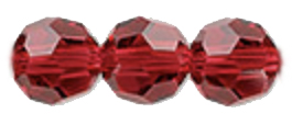 Red Swarovski Crystals for July Birthstones