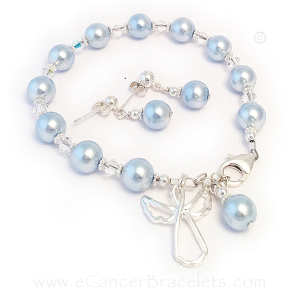 Guardian Angel Bracelet & Earrings