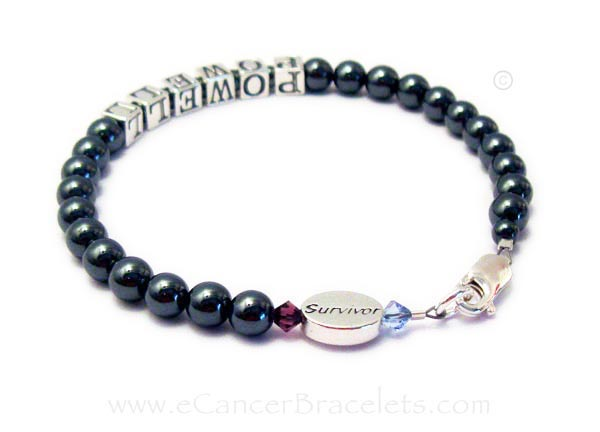 Prostate Cancer Survivor Bracelet