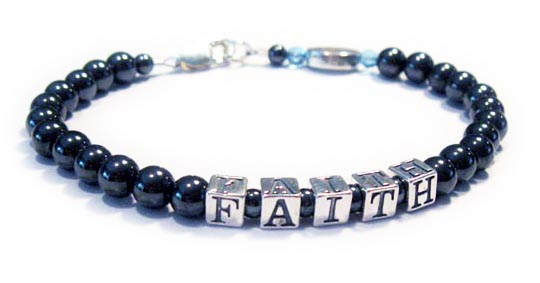 Mans Faith Survivor Bracelet