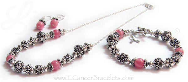 Breast Cancer Coordinating Necklace