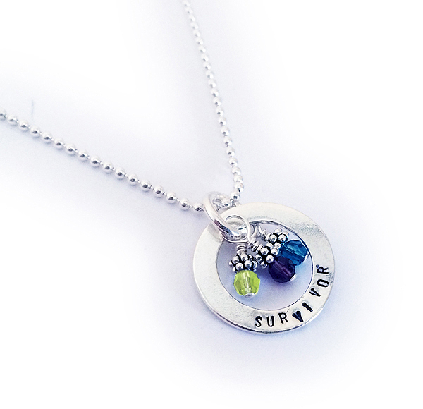 Suicide Awareness and Suicide Prevention Necklace